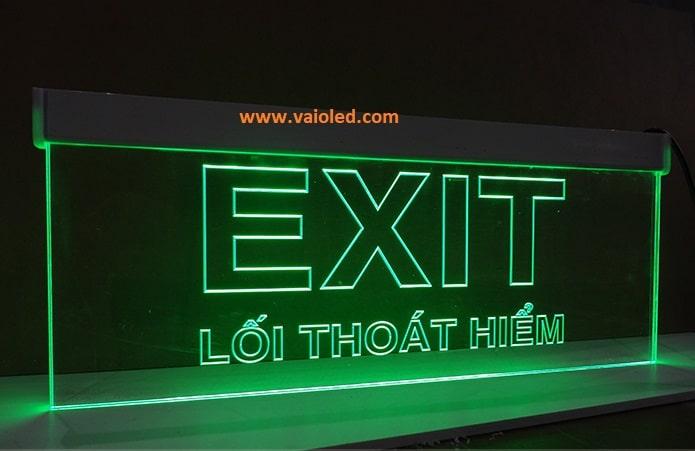 denexit4 - Thiết kế Lắp đặt Đèn Exit Thoát Hiểm