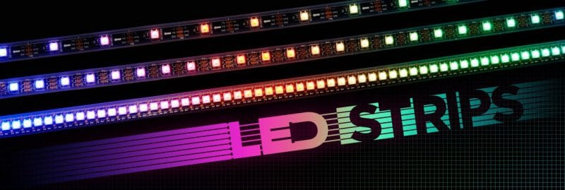 led day 3528 800x269 - Chuyên cung cấp các loại đèn led dây tại Tp.HCM