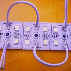 led vuong 4 bong 5050 de nhua 300x300 - Led module vuông 4 bóng 5050 đế nhựa