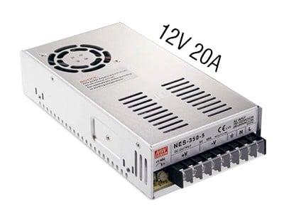 nguon led 12v 20a - Bộ nguồn led 12v 20A